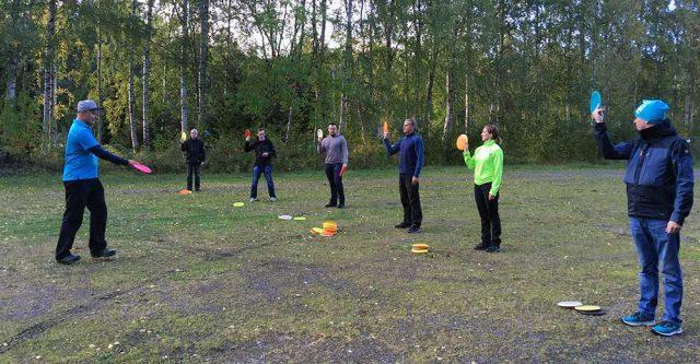 Oukotek frisbeegolf 1